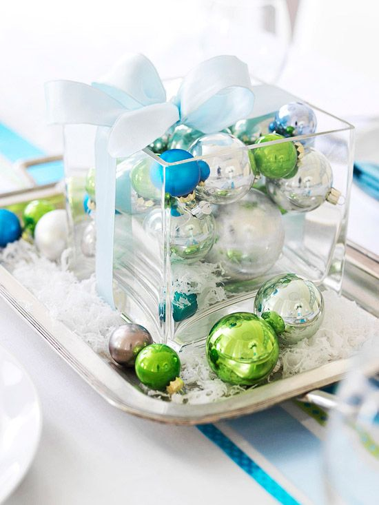 Ornaments The Unexpected Wedding Centerpiece Thrifty